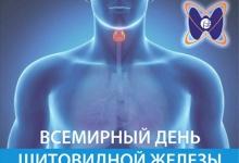 25 мая – Всемирный день щитовидной железы